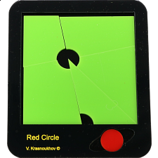 Red Circle Puzzle -