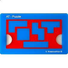 Antislide-Tetramino Puzzle - New Items