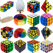 Group Special - a set of 16 Puzzle Master Rotational Puzzles - Group Specials
