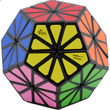 New Improved 12 color Pyraminx Crystal - Black body - Rubik's Cube & Others