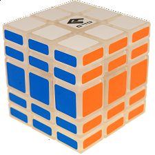 Full Function 3x3x5 Cube - Clear Body - Rubik's Cube & Others