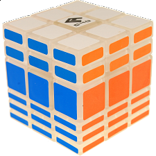 Cubic 3x3x6 - Clear Body - Rubik's Cube & Others