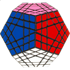 Shengshou Gigaminx - Black Body - Rubik's Cube & Others