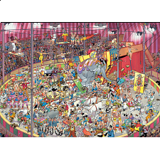 Jan van Haasteren Comic Puzzle - The Circus - 1000 Pieces