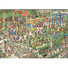 Jan van Haasteren Comic Puzzle - The Playground - 1000 Pieces