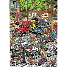 Jan van Haasteren Comic Puzzle - Traffic Chaos - Specials