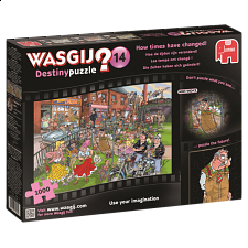Wasgij Destiny #14: How Times Have Changed! - 1000 Pieces