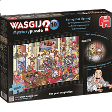 Wasgij Mystery #10: Spring Has Sprung! - 1000 Pieces