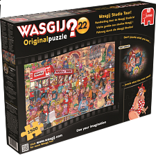 Wasgij Original #22: Wasgij Studio Tour! - 1001 - 5000 Pieces