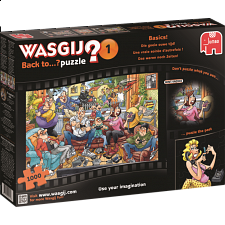 Wasgij Back to...? #1: Basics! - 1000 Pieces