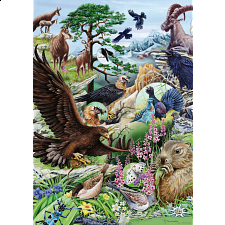 Flora & Fauna: High Mountains - 1000 Pieces