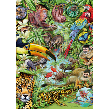 Flora & Fauna: Rainforest - 1000 Pieces