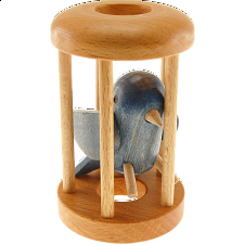 Bluebird in a Cage - Other Wood Puzzles