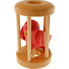 Redbird in a Cage - Other Wood Puzzles