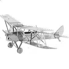 Metal Earth - De Havilland Tiger Moth - Jigsaws