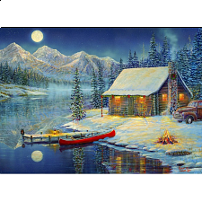 Sam Timm - A Cozy Christmas - 1000 Pieces