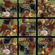 Scramble Squares - Squirrels -
