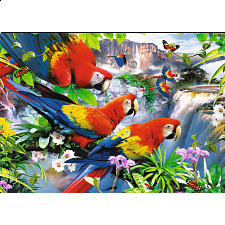 Tropical Birds - Large Piece Format - Jigsaws