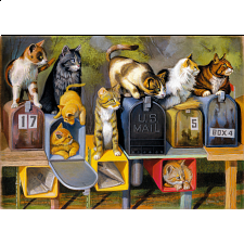Cat's Got Mail - Large Piece Format - Specials