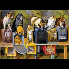 Cat's Got Mail - Large Piece Format - 101-499 Pieces