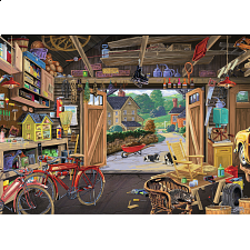 Grandpa's Garage - Large Piece Format - 101-499 Pieces