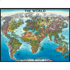 World Map - 1001 - 5000 Pieces