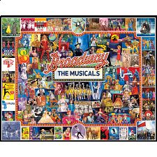 Broadway: The Musicals - 1000 Pieces