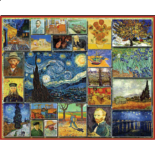 Great Painters: Vincent Van Gogh - 1000 Pieces