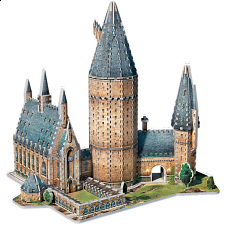 Harry Potter: Hogwarts Great Hall - Wrebbit 3D Jigsaw Puzzle - 3D