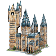 Harry Potter: Hogwarts Astronomy Tower -Wrebbit 3D Jigsaw Puzzle -