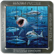 Magna 3D Lenticular Puzzle: Sharks - Search Results
