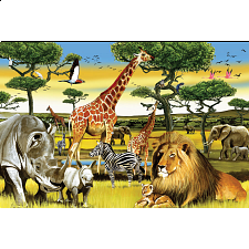 Floor Puzzle: African Plains - 1-100 Pieces