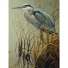 Great Blue Heron - 500-999 Pieces