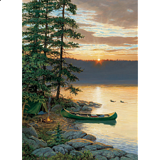 Canoe Lake - Large Piece -