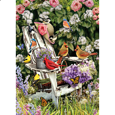 Summer Adirondack Birds - 1000 Pieces