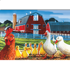 Dwight's Ducks - Tray Puzzle - 1-100 Pieces