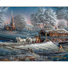Terry Redlin - Morning Frost - 1000 Pieces