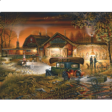 Terry Redlin - Morning Warmup - 1000 Pieces