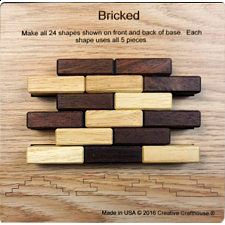 Bricked - Other Wood Puzzles