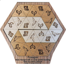 Foxagon - Other Wood Puzzles