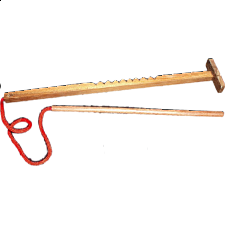Hooey Stick with String - Wood Puzzles