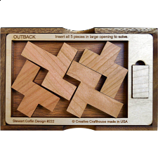 Outback with Cover - Other Wood Puzzles