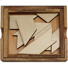 The Amazing Pi Puzzle - Other Wood Puzzles