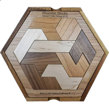 Rhombic Blocks - Other Wood Puzzles