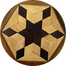 Pento Star - Other Wood Puzzles
