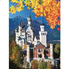 Neuschwanstein in Autumn - 1001 - 5000 Pieces