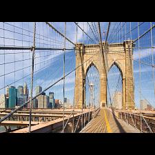Brooklyn Bridge View - 1000 Pieces