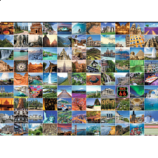 99 Beautiful Places on Earth - 1000 Pieces