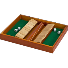 Shut the Box - Double Side 12 - Board Games