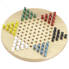 Chinese Checkers - 11 inch Standard - Wood Games